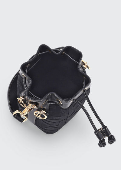 Mon Tresor Mini FF Embroidery Bucket Bag
