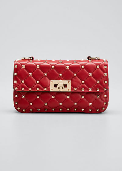 Rockstud Small Matelasse Shoulder Bag