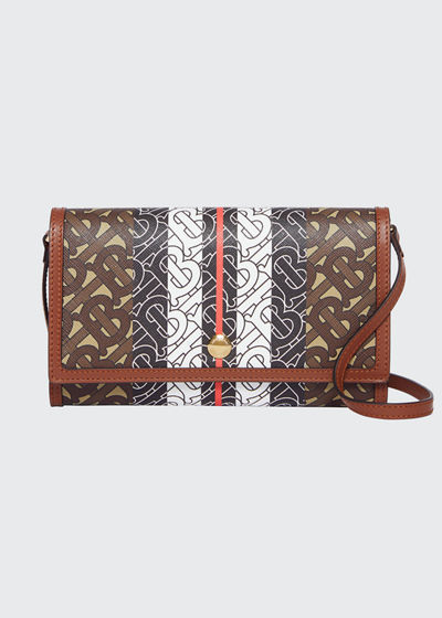 Hanna TB Monogram Canvas Wallet