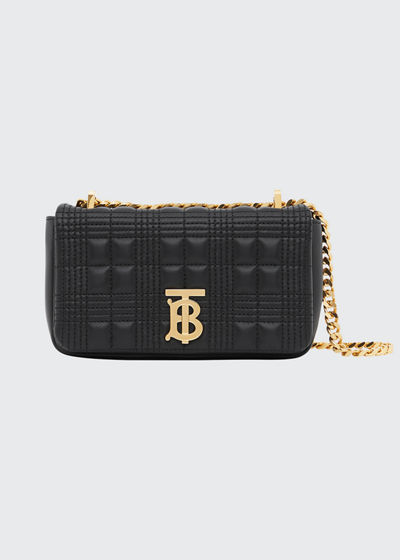 Lola Mini Quilted Lambskin Crossbody Bag