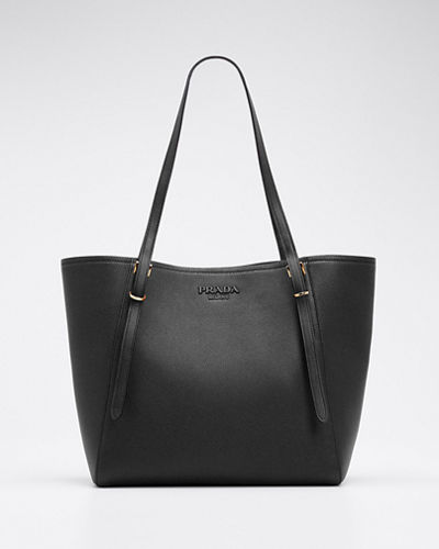 Vitello Grain Leather Tote Bag