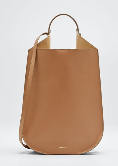 Helene Mini Leather Tote Bag