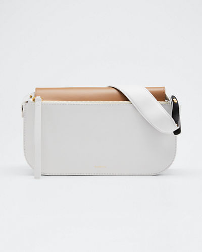 Julie DL Two-Tone Shoulder Bag