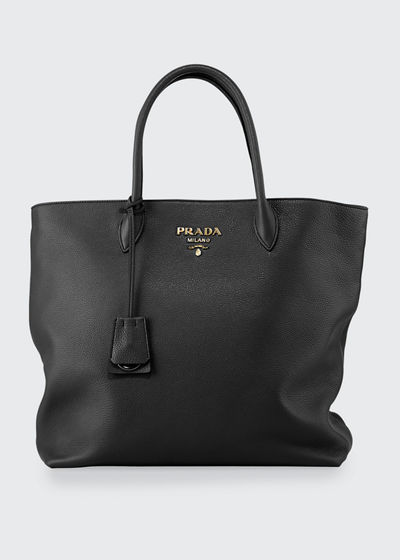 Daino Shopper Tote Bag w/ Removable Crossbody Strap