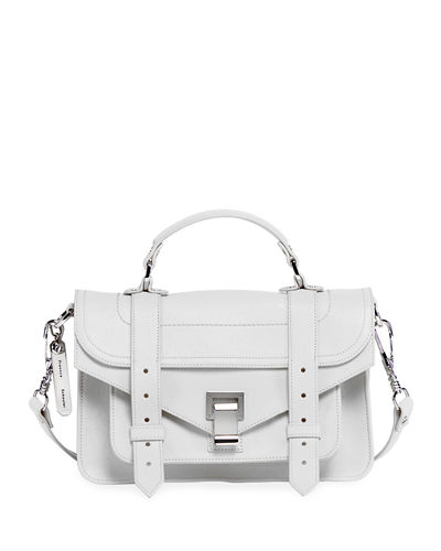 PS1 Tiny Lux Leather Satchel Bag