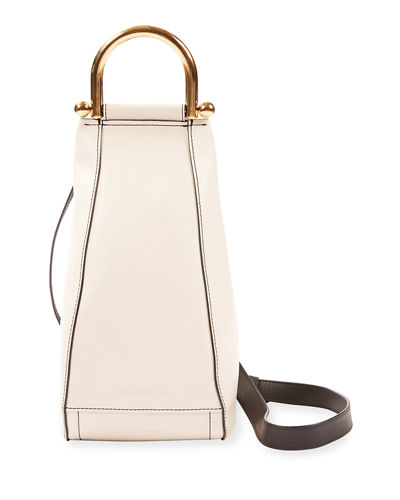 Smooth Wedge Shoulder Bag