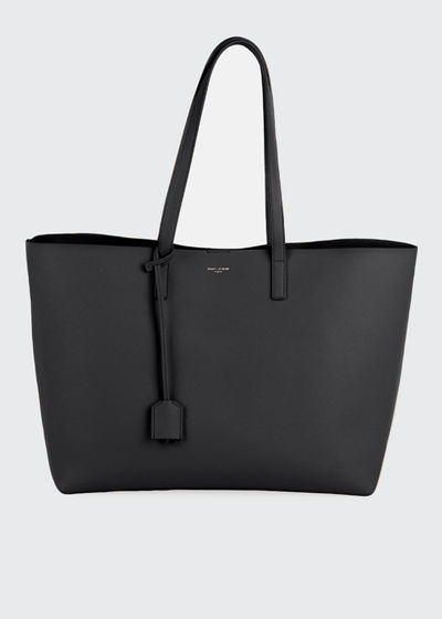 East West Calfskin Shopping Tote Bag