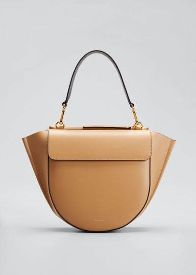 Hortensia Medium Calf Top-Handle Bag