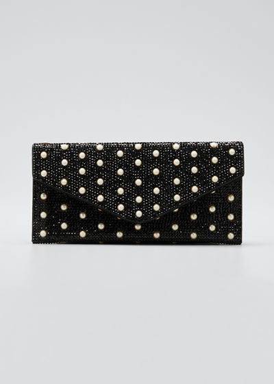 Envelope Pearly Beaded Clutch Bag