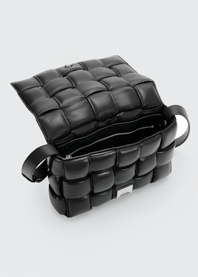 Padded Cassette Crossbody Bag