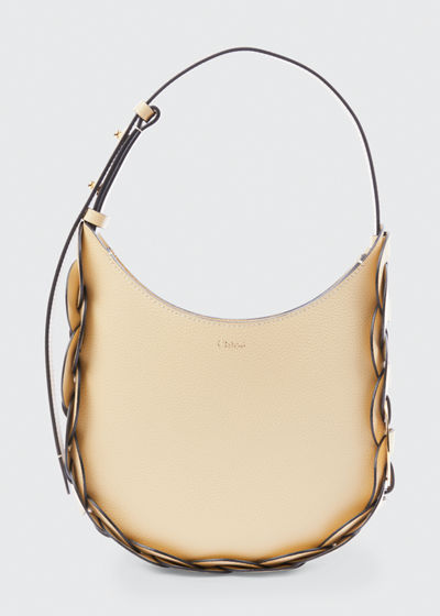 Darryl Small Leather Hobo Bag