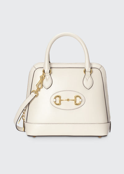 1955 Horsebit Small Leather Top-Handle Bag