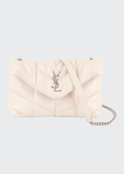 LouLou YSL Mini Quilted Crossbody Bag