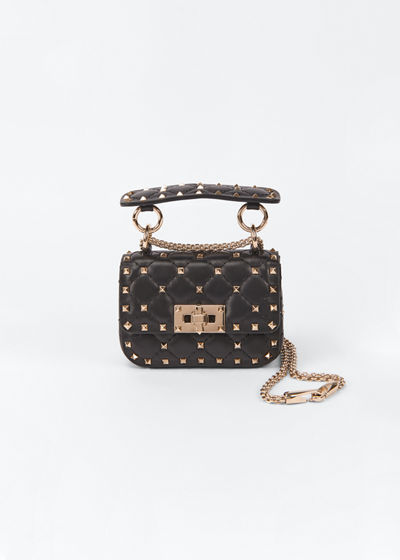 Spike Micro Rockstud Shoulder Bag