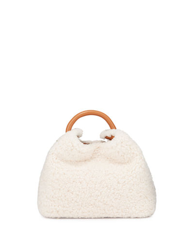 Baozi Shearling Bucket Bag