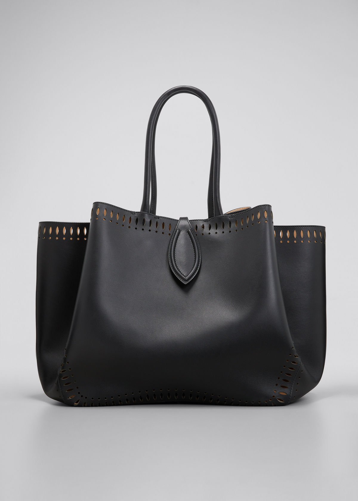 Alaïa ANGELE 32 CALF LEATHER TOP-HANDLE BAG