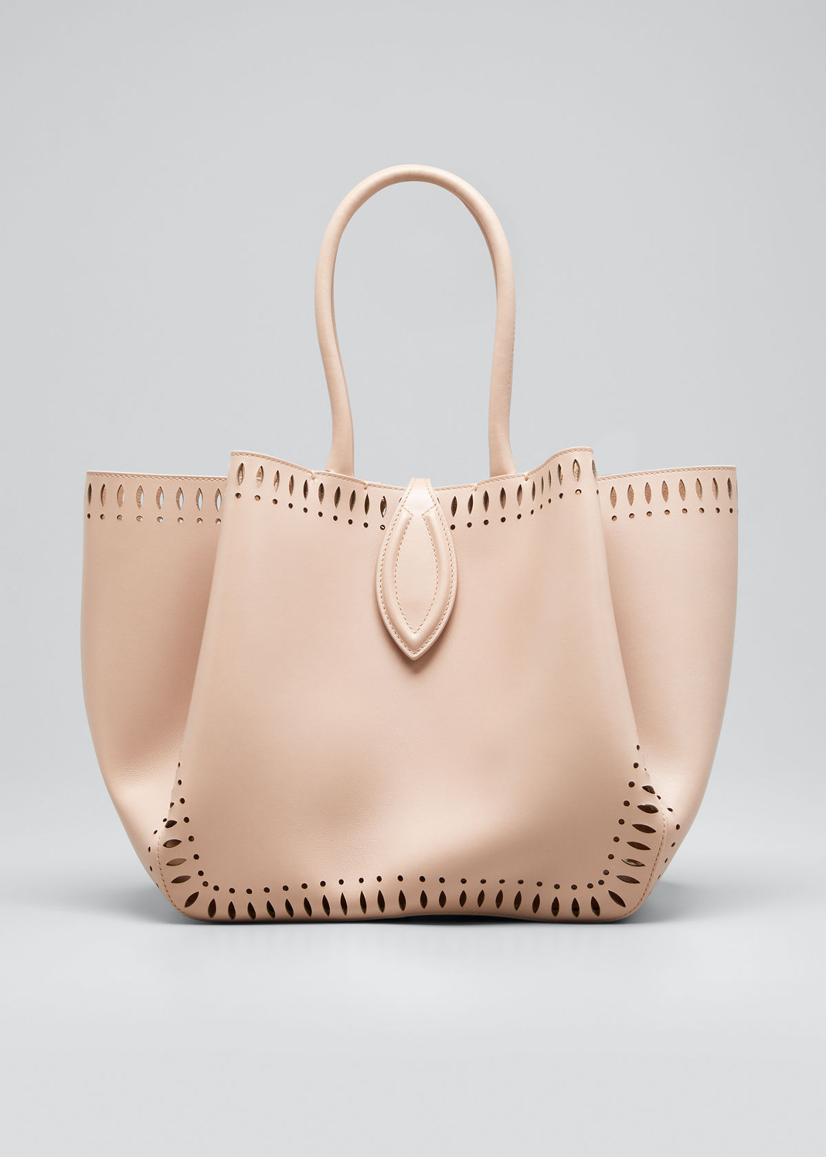 Alaïa ANGELE 25 CALF LEATHER TOP-HANDLE BAG