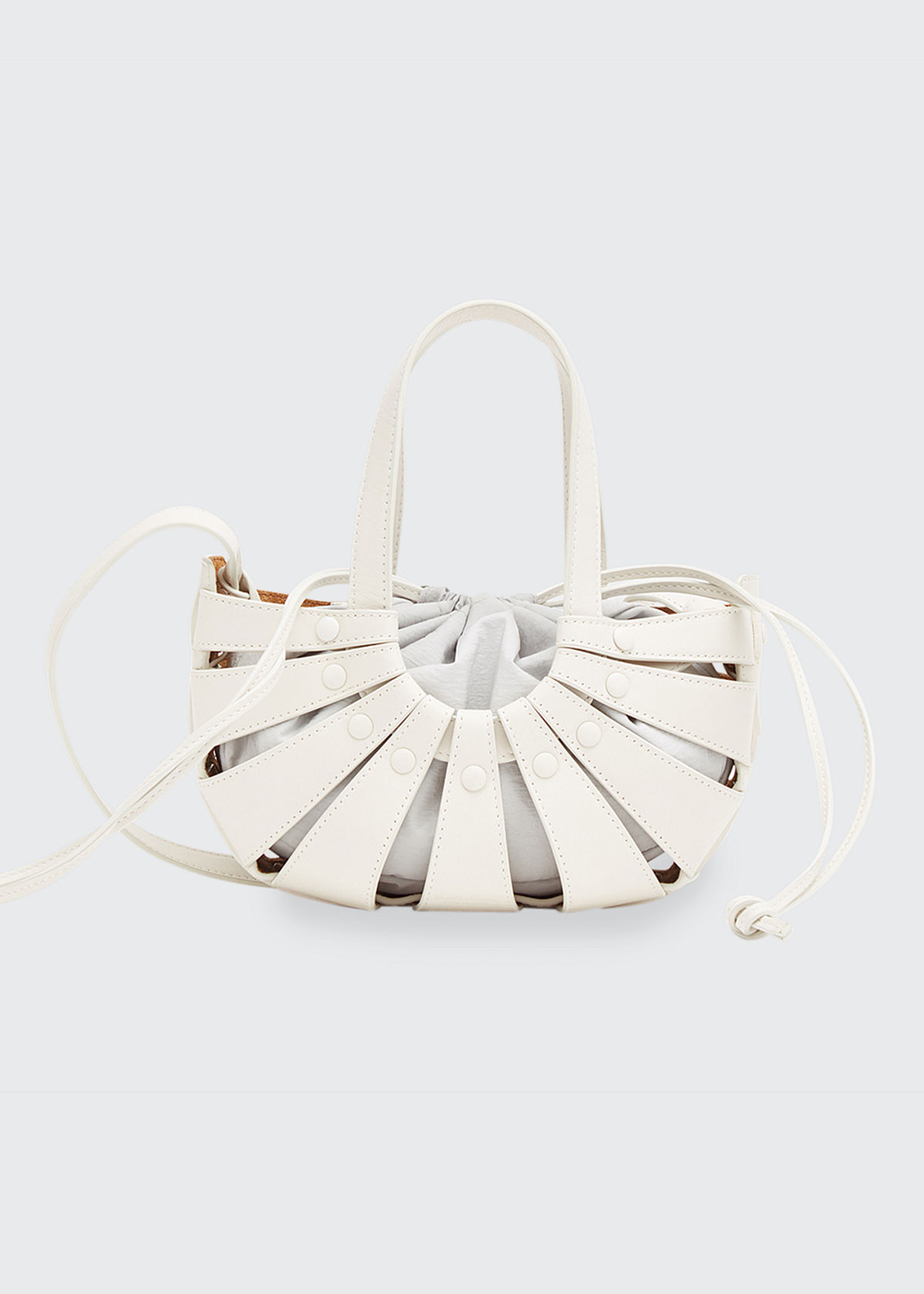 Bottega Veneta Leathers THE SHELL BAG