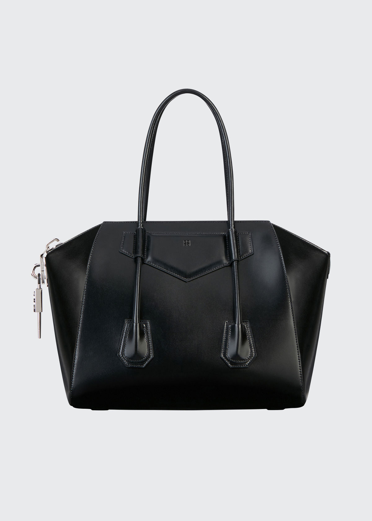 Givenchy MEDIUM ANTIGONA LOCK SATCHEL BAG IN CALF LEATHER