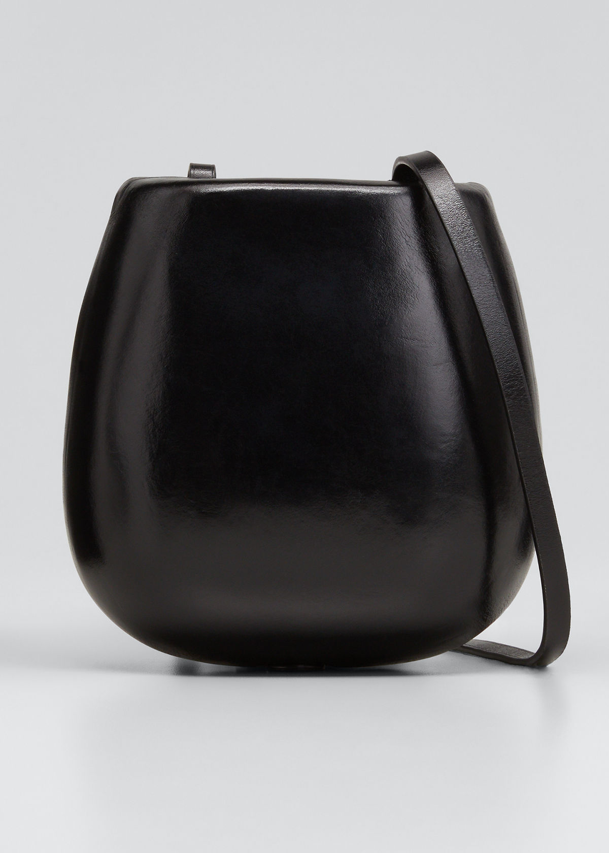 Lemaire Bags TACCO MOLDED LEATHER CROSSBODY BAG