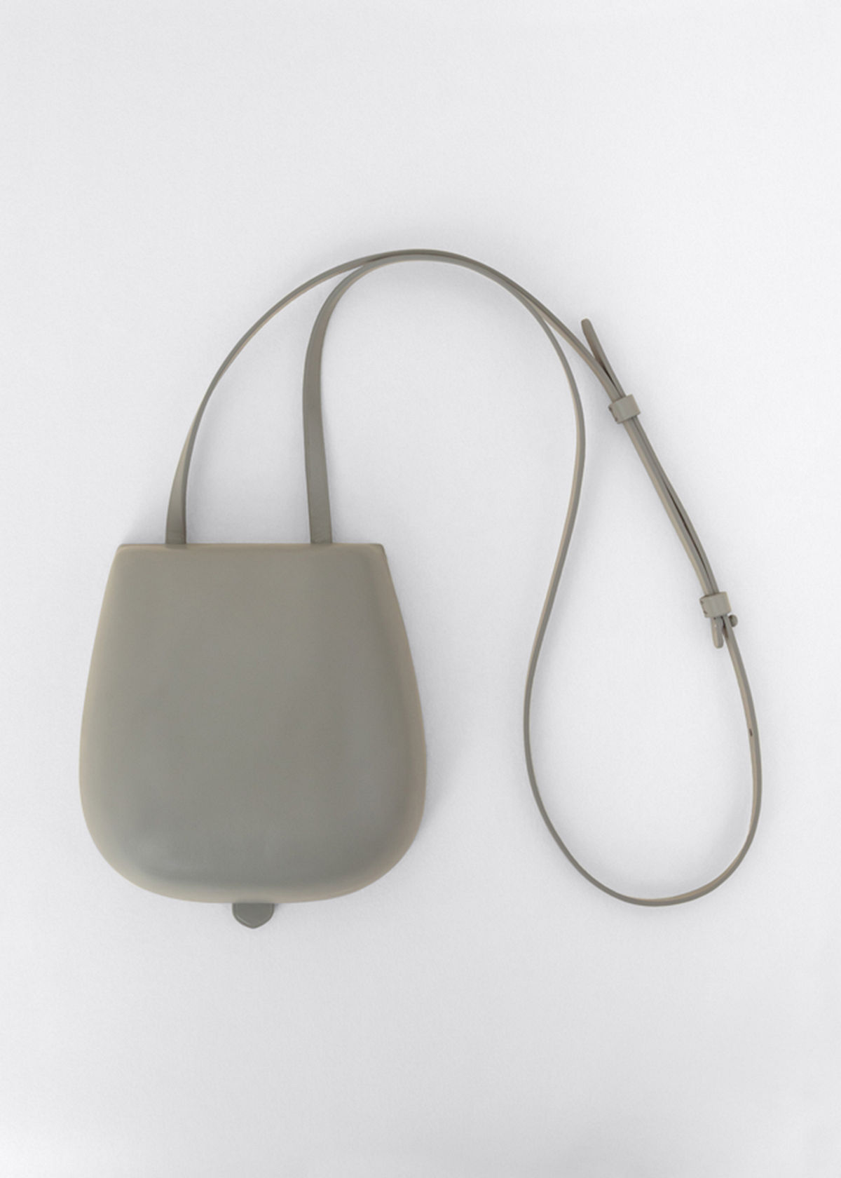Lemaire TACCO MOLDED LEATHER CROSSBODY BAG