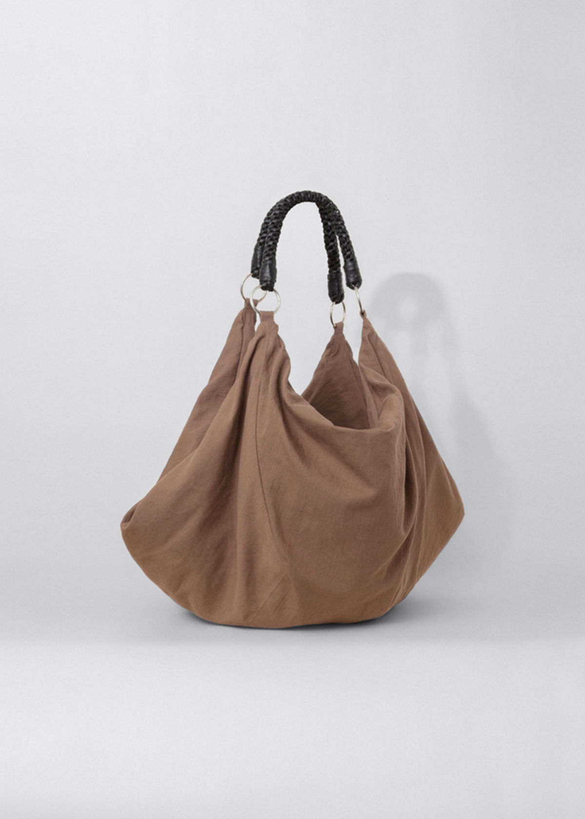 Lemaire LARGE SLOUCHY CONVERTIBLE HOBO BAG