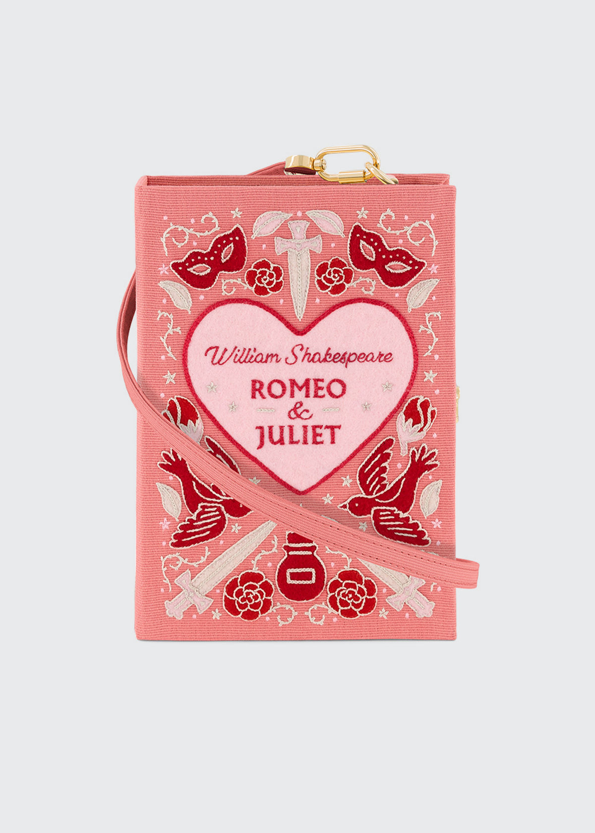 Olympia Le-Tan ROMEO AND JULIET BOOK CLUTCH BAG