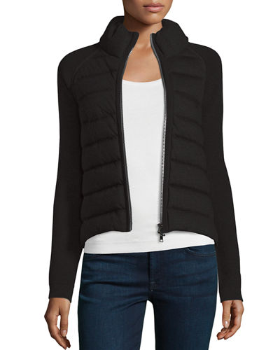 4f86f00ad Maglione Quilted Tricot Cardigan Jacket
