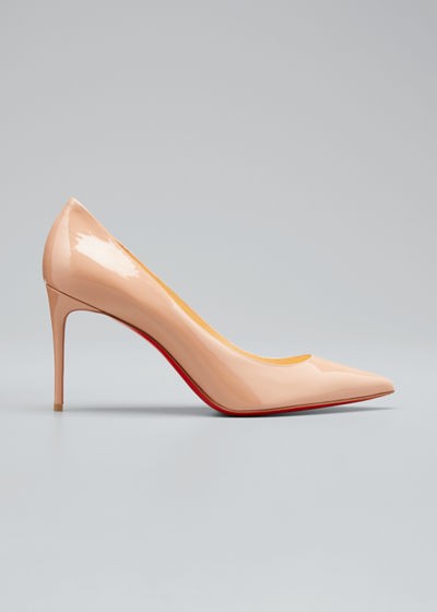 04455a35fb3 Decollete 85mm Patent Leather Red Sole Pump Quick Look. Christian Louboutin