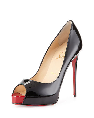 New Very Prive Patent Red Sole Pump