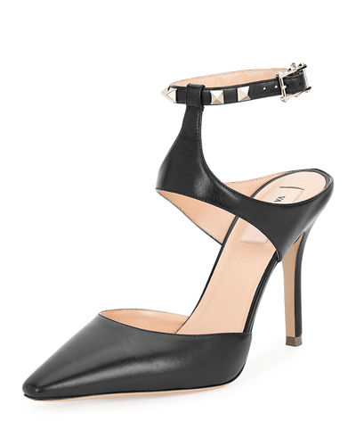 from china free shipping low price Valentino Leather Ankle-Strap Pumps free shipping 2015 deals cheap price free shipping cheap online HiJSF