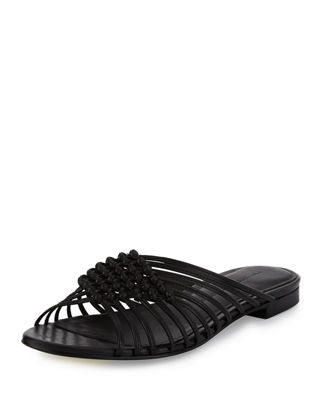 Sigerson Morrison Braided Leather Sandals