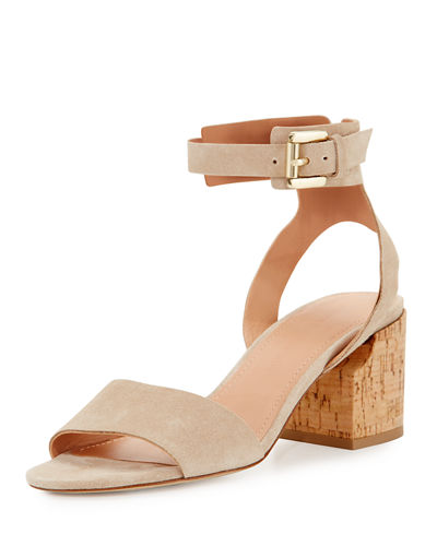 Riva Ankle-Cuff City Sandal