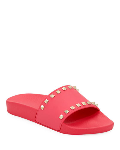 Rockstud Pool Slide Sandal