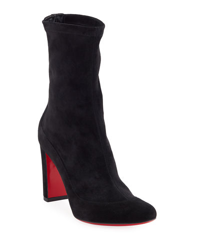 Gena Stretch Suede Midi Boot