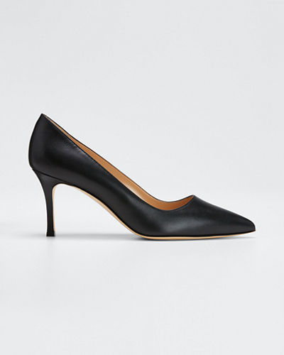 BB Leather 70mm Pump