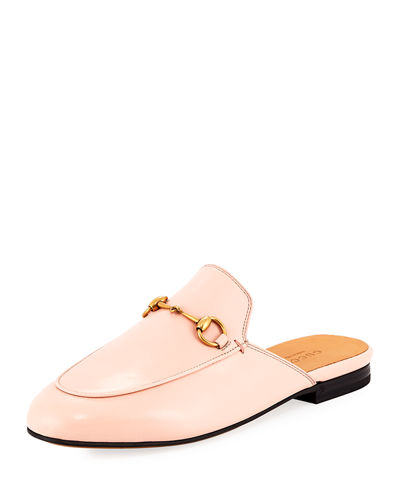 Leather Mule Loafer