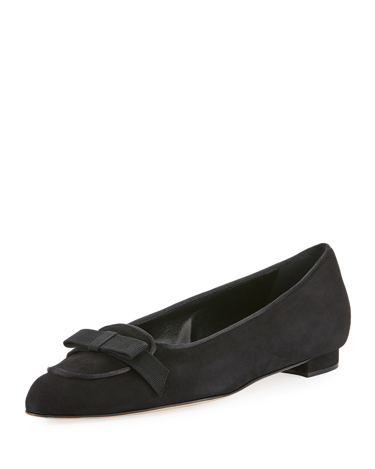 Furia Suede Bow Flat