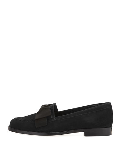 Aldenabow Suede Bow Loafer