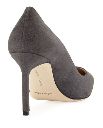 BB Suede 90mm Pump