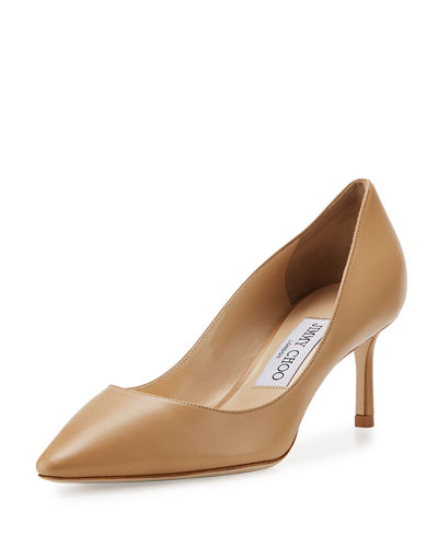 Romy 60mm Leather Pumps (Customizable)