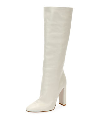 Exclusive To Mytheresa.Com – Laura 85 Leather Boots, White