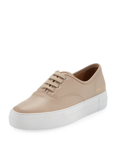 Tournament Low-Top Leather Sneaker