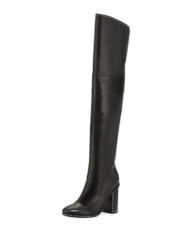Mars Studded Over-the-Knee Boot