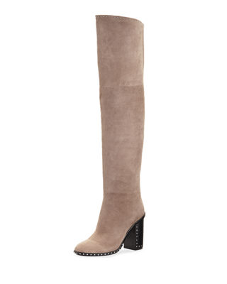 Mars Studded Over The Knee Boot by Sigerson Morrison