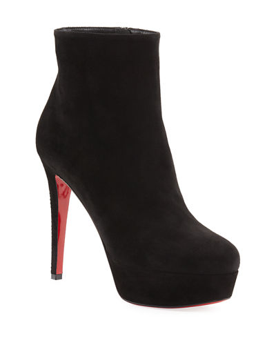 9be739110fff Christian Louboutin Red Boot. Bianca Suede Platform Red Sole Boot