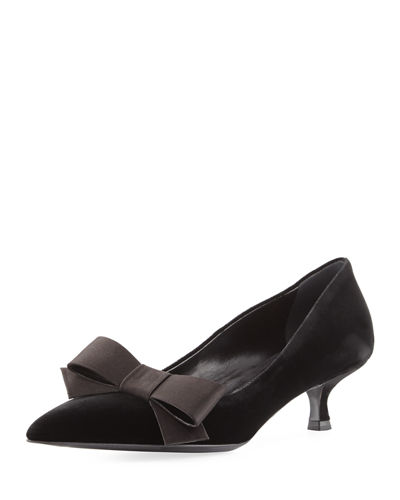 Sale Manchester Prada Satin Bow Accented Pumps Cheap Sale Explore Big Sale Online Shop Offer Cheap Price Shop Sale Online n4P1r