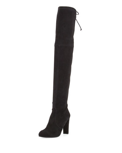 8569b49b3dd Stuart Weitzman Highland Suede Over-The-Knee Boot