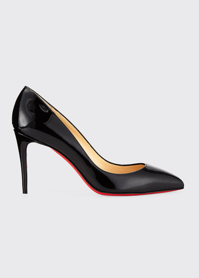 Pigalle Follies 85mm Patent Red Sole Pumps