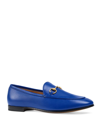 a10994213b2 Flat Jordaan Leather Loafer Quick Look. Gucci